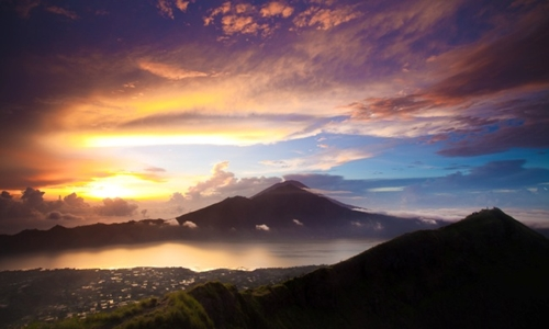 Mount Batur,