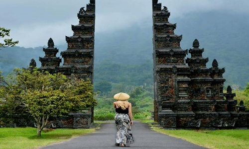 Bali Handara Heaven Gate Popular Bali Interesting Places Bali