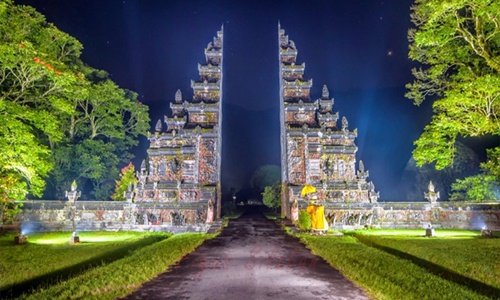 Bali Handara Heaven Gate Popular Bali Interesting Places Bali