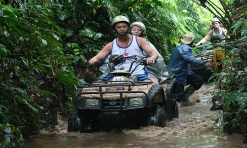Bali ATV and Elephant Ride Tour