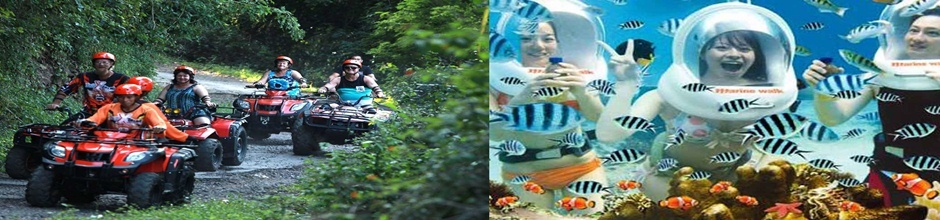 Bali Ocean Walker and Quad Bike Adventure