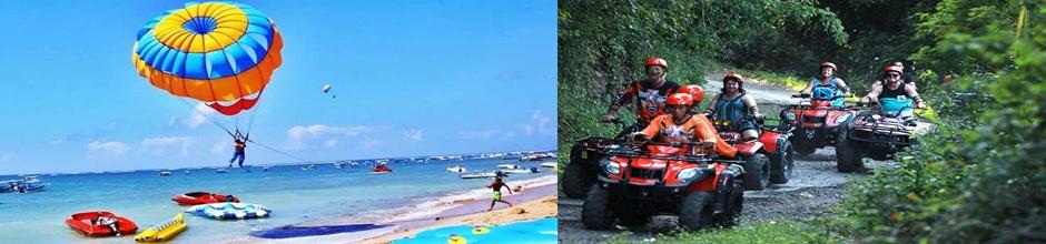 Parasailing adventure and Bali Atv Ride