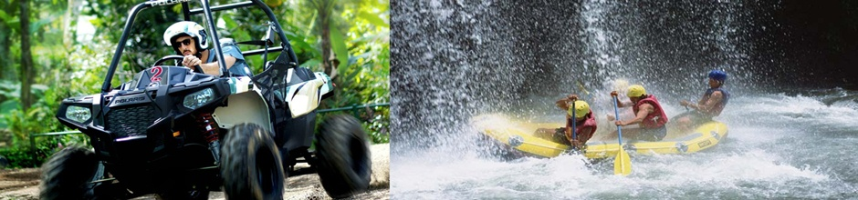 White Water Rafting and Bali Jungle Buggies adventure