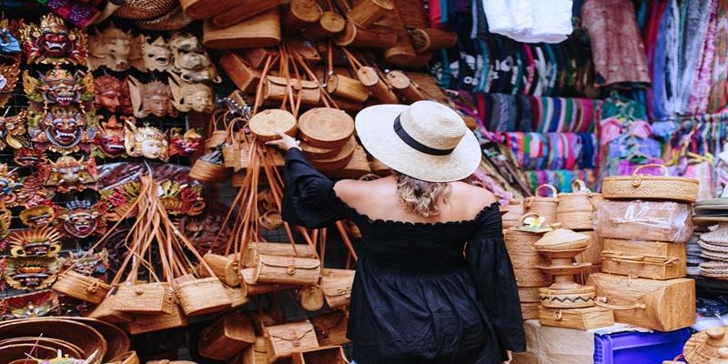 Ubud Traditional Art Market Bali